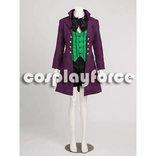 Black Butler 2 Kuroshitsuji Alois Trancy Cosplay Costume