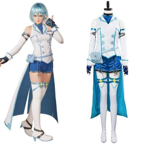 Dead Or Alive 6 Nico Outfit Cosplay Costume Female Halloween Suit