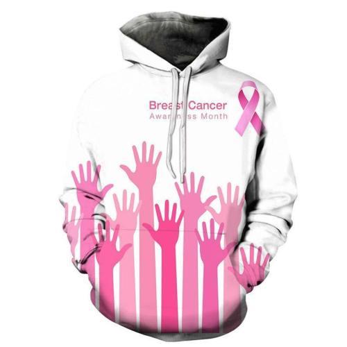 Supportive Hands Bca 3D - Sweatshirt, Hoodie, Pullover