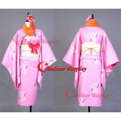 Himoto/Himouto!Umaru-Chan Doma Halloween Cosplay Costume Dress Outfit Kimono Kit