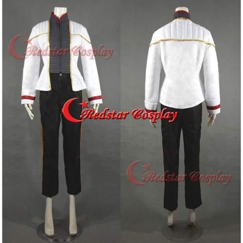 Star Trek Cosplay Costume Insurrection Nemesis Mess White Uniform  Custom In Any Size
