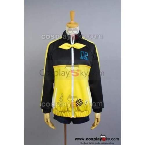 Vocaloid Len Project Diva-F Sport Suit Cosplay Costume Version B