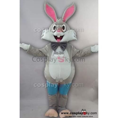 Bugs Bunny Rabbit Adult Size Cartoon Mascot Cosplay Costume