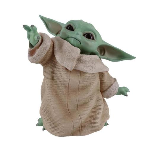The Mandalorian Baby Yoda Grogu Action Figure Toys Figuras Xmas Gifts