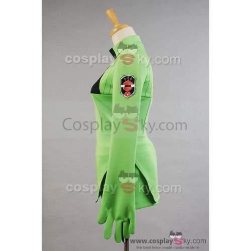 World Trigger Kirie Konami Green Uniform Cosplay Costume