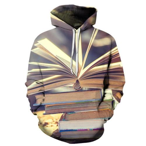 Sunshine On Book 3D - Sweatshirt, Hoodie, Pullover