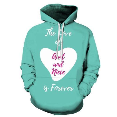 Forever Aunty 3D - Sweatshirt, Hoodie, Pullover