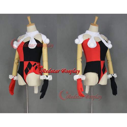 Harley Quinn Cosplay Costume From Injustice Cosplay Jumpsuit Style