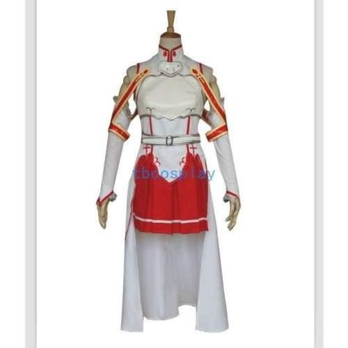Sword Art Online Lisbeth Asuna Yuuki Cosplay Costume