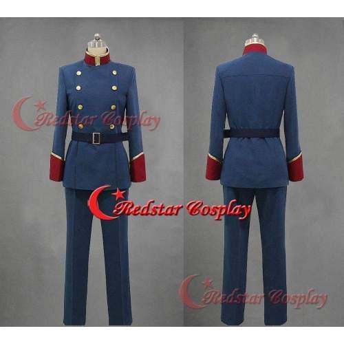 Aldnoah.Zero Slaine Troyard Mars Orbital Knights Uniform Cosplay Costume Outfit
