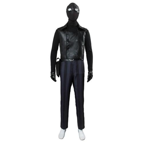 Spider-Man: Into The Spider-Verse Spider-Man Noir Cosplay Costume