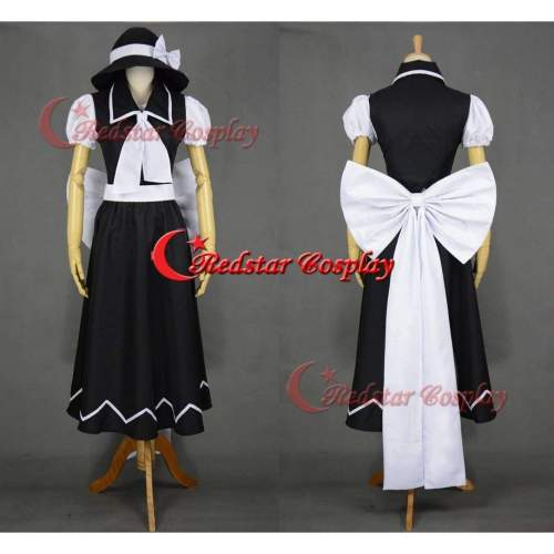 Yuki Cosplay Costume (Black) From Touhou Project Cosplay
