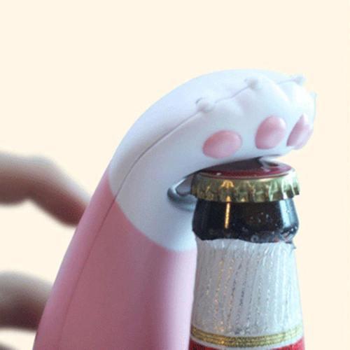 Cute Cat Paw Bottle Opener