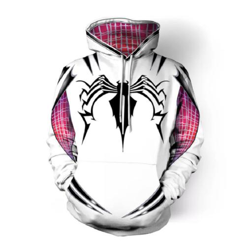 Spider-Man Hoodie - Gwen Pullover Hoodie Csos163