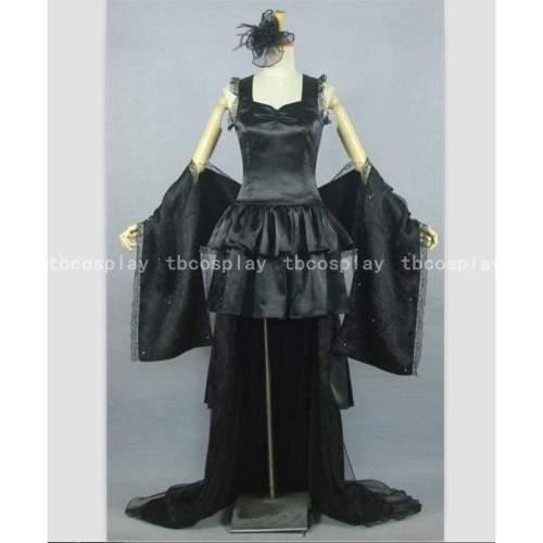 Tokyo ghoul cosplay sendasly black cosplay dress costume