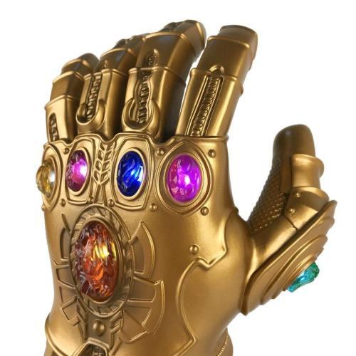 Avengers: Endgame Thanos Infinity Gauntlet Gloves Kids Edition Led Light Infinity War Glove Kids Hand Wear