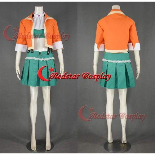 Gumi Cosplay Costume (Megpoid 2Nd) From Vocaloid 3