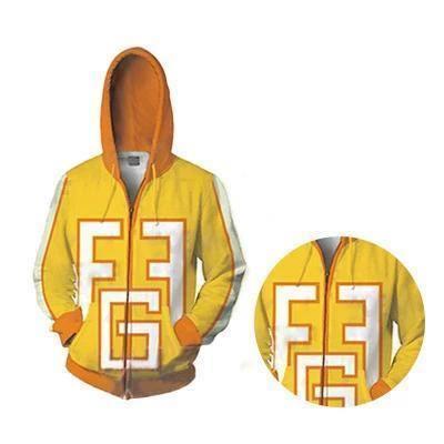 Fatgum Cosplay Zip Up Hoodie