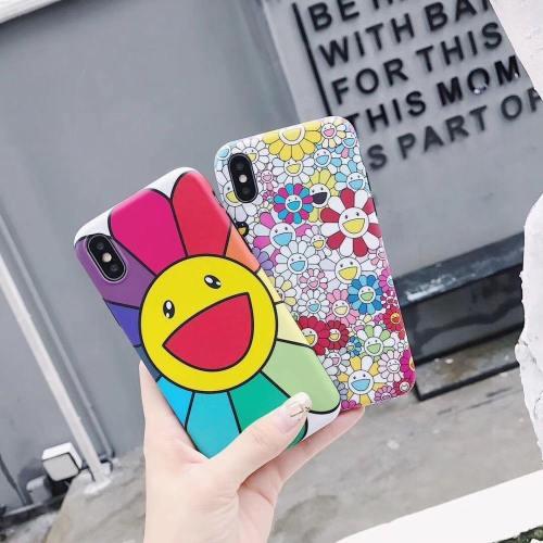 Colorful Japanese Sunflower Mandala Phone Case