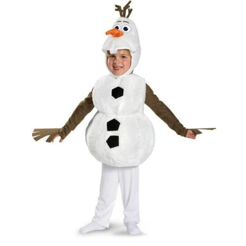 Frozen 2 Snowman Mascot Olaf Costume Cosplay Elsa Anna Fancy Dress Ice Snow Queen Girls Cartoon  Adult Halloween Christmas Party Outfit