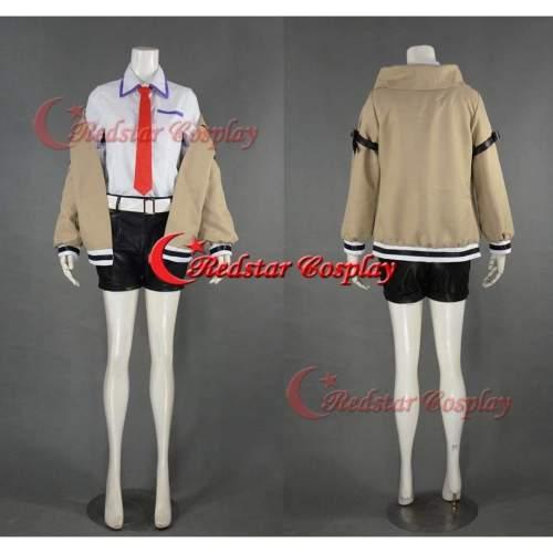 Steins Gate Makise Kurisu Cosplay Costume Custom In Sizes