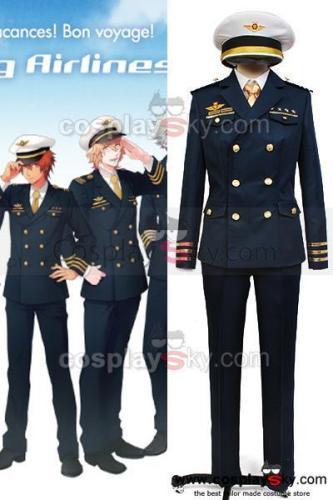 Uta No Prince-Sama Shining Airlines First Officer Uniform Costume