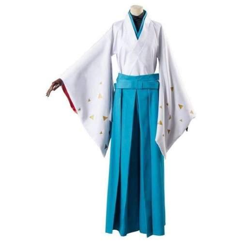 Touken Ranbu Tomoegata Naginata Kimono Cosplay Costume
