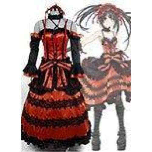 Date A Live Kurumi Tokisaki Astral Dress Cosplay Costume