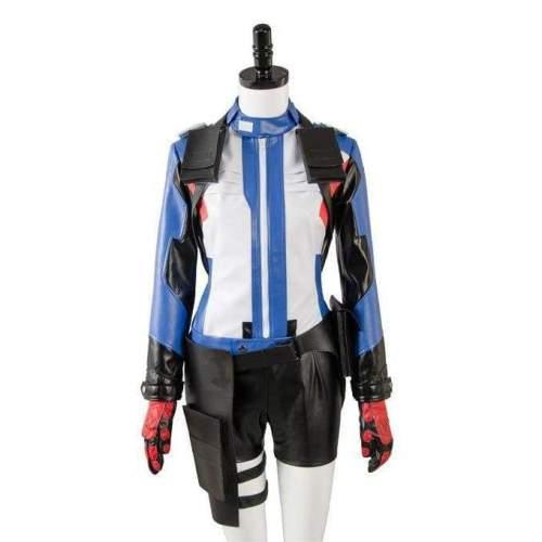 Overwatch Soldier 76 Bio Jack Morrison Female Version Cosplay Costume