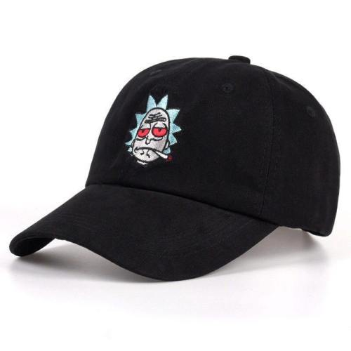 Animation Cosplay Costumes Rick And Morty Adjustable Baseball Cap Hat