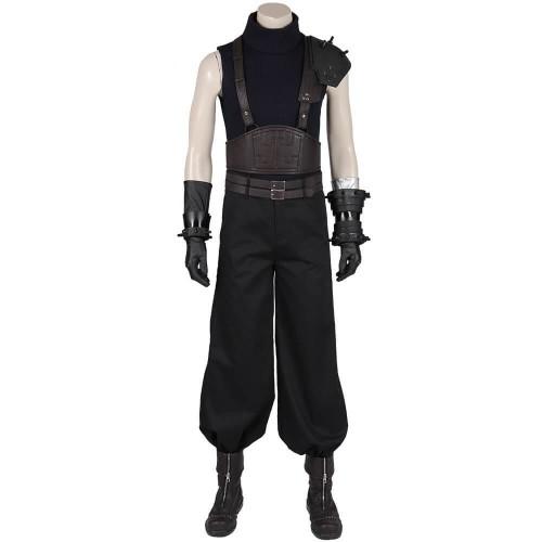 Game Final Fantasy Vii Cloud Strife Costume Cosplay Uniform Halloween
