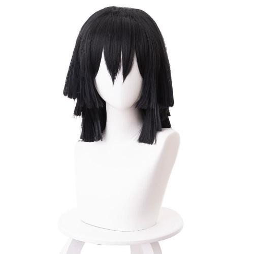 Demon Slayer Iguro Obanai Cosplay Wig