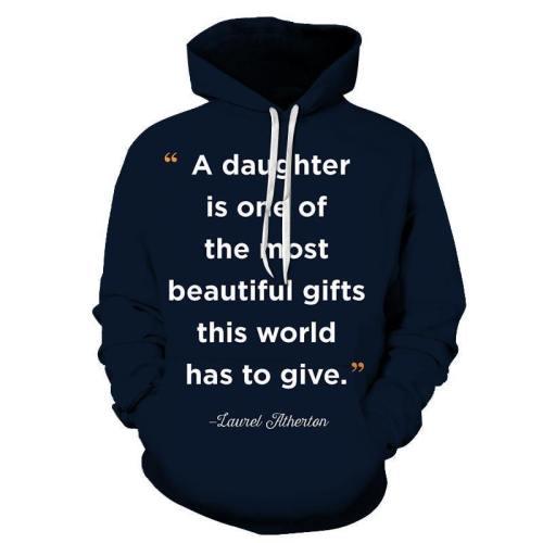 Navy Blue Mother Love 3D - Sweatshirt, Hoodie, Pullover
