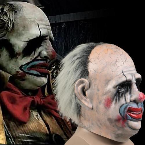 Dead By Daylight The Clown Kenneth Chase Mask Trapper Halloween Joker Mask Props