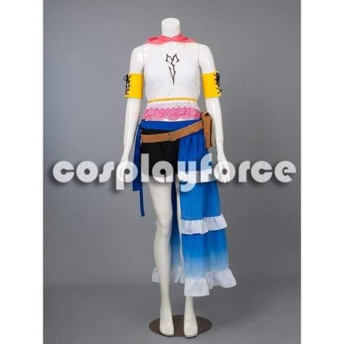 Final Fantasy X-2 Yuna Cosplay Costume mp002865
