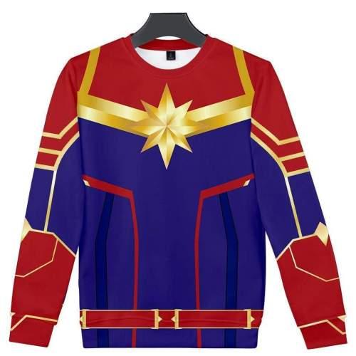 Captain Marvel Sweatshirt - Carol Danvers Sweatshirt