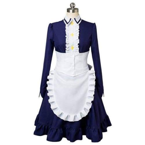Seven Deadly Sins Nanatsu No Taizai 2  Elizabeth Liones Maid Dress Cosplay Costume