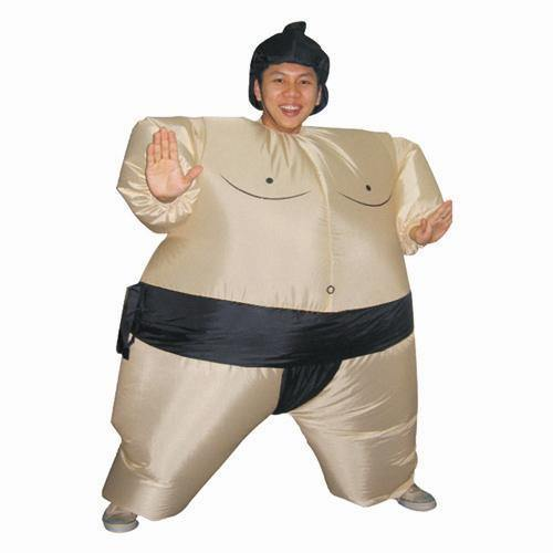 Inflatable Sumo Cosplay Carnival Halloween Christmas Party Costumes