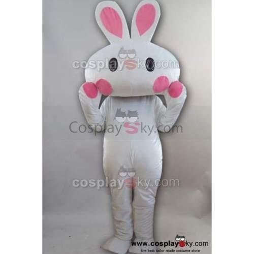 New Rabbit Bunny Mascot Costume Adult Size