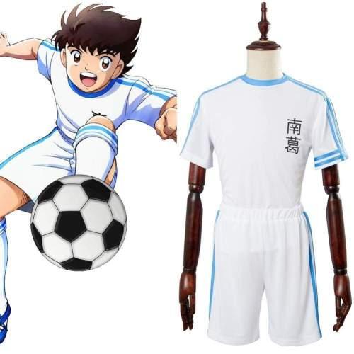 Captain Tsubasa  Nankatsu Tsubasa Ozora #10 Team Uniform Cosplay Costume