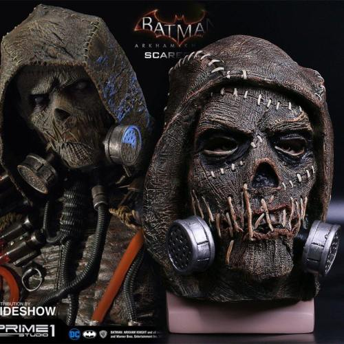 Batmen Scarecrow Jonathan Crane Creepy  Cosplay Mask