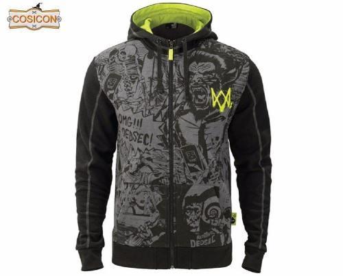 Game Watch Dogs 2 Dedsec  Sweatshirts Men'S Hoodies