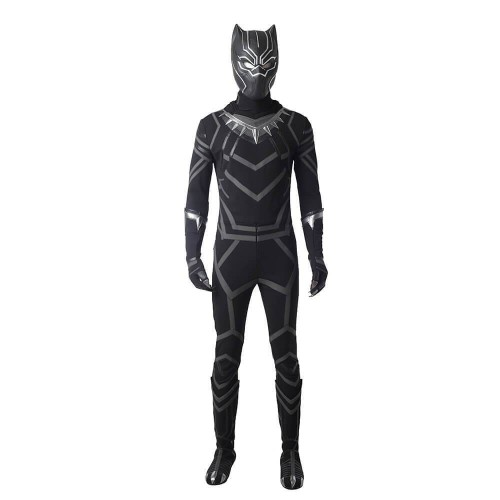 Black Panther Cosplay Costume For Halloween