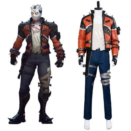 Overwatch Soldier 76 Slasher Skin Cosplay Costume