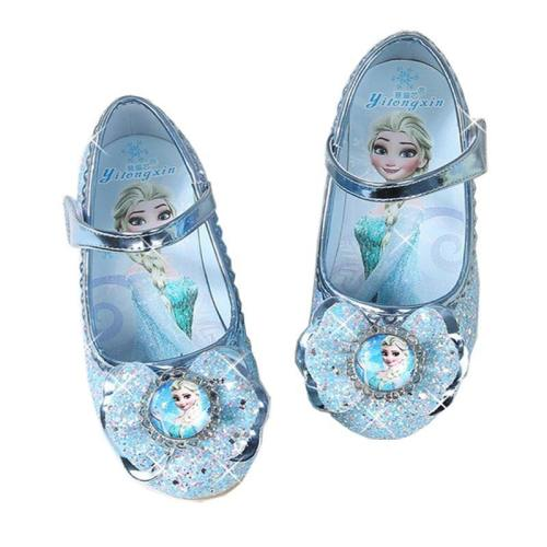 Elsa Shoes Girls Shoes Cartoon Sofia Elsa Anna Kids Sneakers Snow Queen Shoes For Girls Sandals Flat Casual Shoes