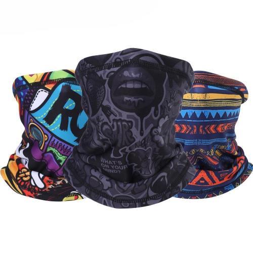 Outdoor Bandana Neck Gaiter Half  Face Mask