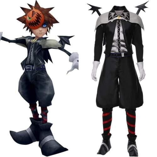Vampire Halloween Costume Kingdom Hearts Skin Sora Cosplay Costume