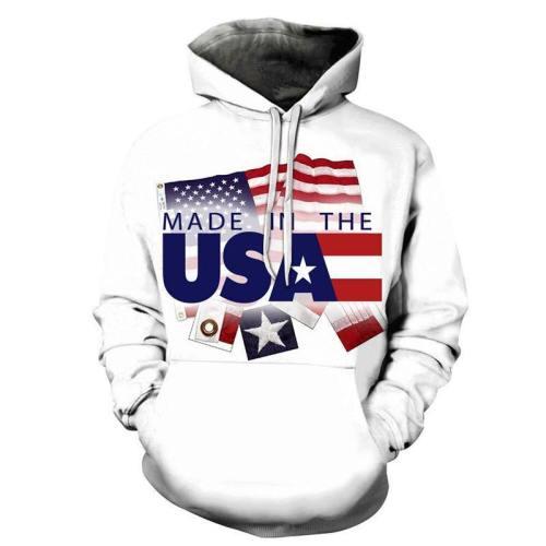 Made In Usa 3D - Sweatshirt, Hoodie, Pullover