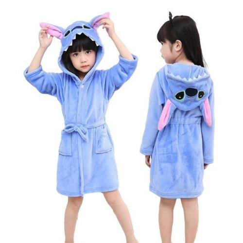 Children Unicorn Hooded Bathrobes Towel Beach Kids Boys Girls Costumes