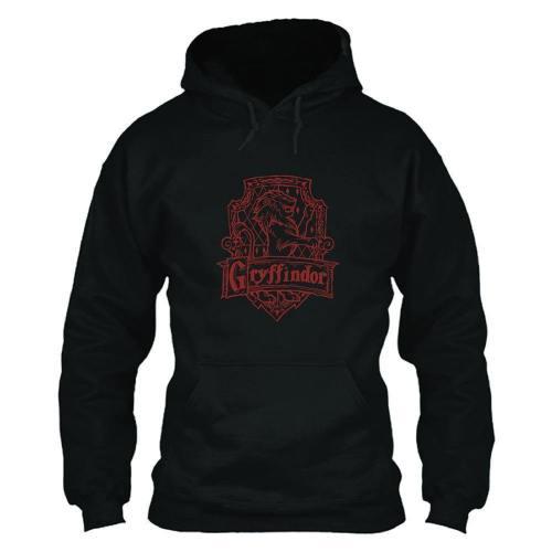 Unisex Harry Potter Hoodies Gryffindor Printed Pullover Jacket Casual Sweatshirt